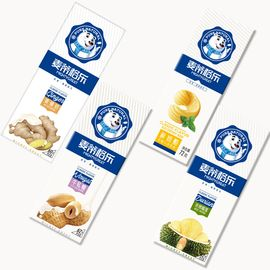 麦蒂格乐 广式甜品冰淇淋冰淇淋雪糕  浓情榴莲/牛轧糖/姜撞奶/鲜奶酪 18只装