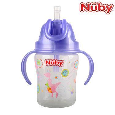 Nuby 努比 自然乳感防渗漏弹跳吸管杯270ML 68098