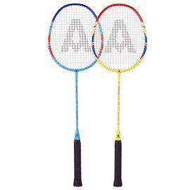 Agnite 安格耐特 铝合金一体羽毛球拍混合对拍套装 F2111 (附送3个羽毛球1个球拍包)