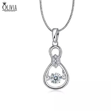 奥利薇亚 925纯银项链礼盒装锁骨(多款可选)