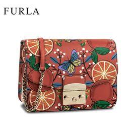 Furla 芙拉 Metropolis系列  女士链条单肩斜挎包 多色可选 洲际速买