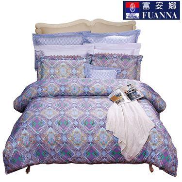 富安娜 床单四件套-韵律几何 1.5米床