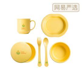 网易严选 韩国制造 婴幼儿玉米餐具辅食碗套装