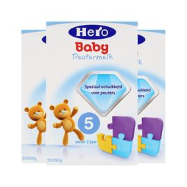 美素/HeroBaby 婴幼儿奶粉 5段  700g  荷兰进口 有助脑部和神经系统发育  CST购