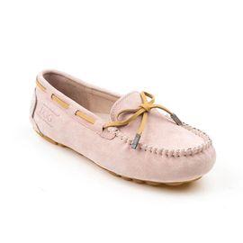 Ozwear UGG OB150II 澳洲雪地靴品牌春夏新款全皮防水气垫内增高豆豆鞋 澳洲进口 IVY