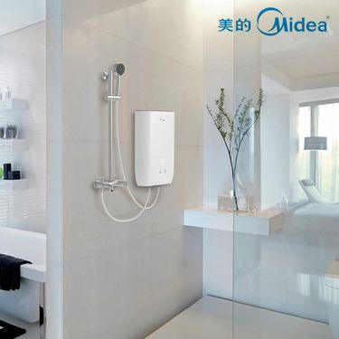 美的MIDEA 冷热水净化机净洗仪私密呵护WIFI监控3级复合滤芯冲凉洗澡除氯除菌除杂质健康水质净化器