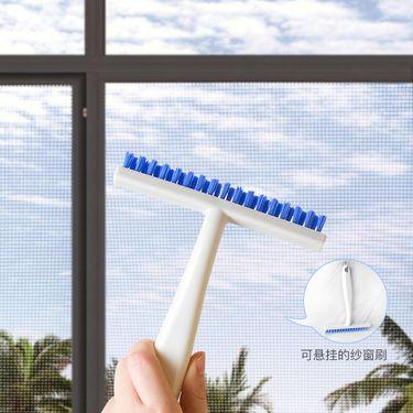 KOKUBO 日本家用窗户刷 缝隙刷 清洁神器 清理死角刷 纱窗刷子 纱窗刷