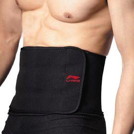 李宁 护腰运动护腰带男女篮球健身羽毛球训练深蹲保暖收腹带腰带