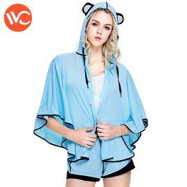 VVC 2018夏季新款防晒衣女薄款熊猫斗篷防紫外线外套潮防晒服