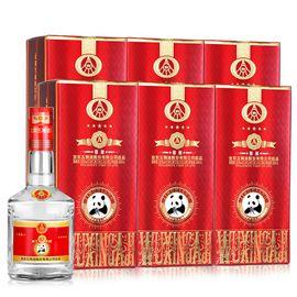 五粮液 宜宾五粮液股份有限公司出品 五星A级精酿 熊猫酒 52°500ml*6整箱