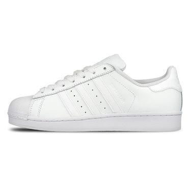 阿迪达斯 Adidas三叶草夏季新品男女中性SUPERSTAR白标贝壳头休闲小白鞋B27136