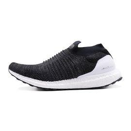 阿迪达斯 adidas男子跑步鞋新款ULTRABOOST袜套式运动鞋BB6140一号黑+一号黑