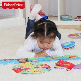 费雪 牌 宝宝布书婴儿 早教启蒙立体撕不烂0-1岁宝宝玩具6-12个月小布书