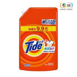 汰渍 全效360度洗衣液 900g 去渍无残留 护色洁净 自然香气
