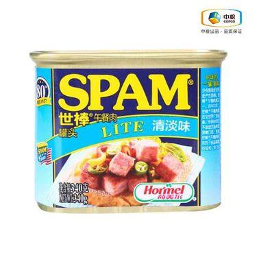 中粮 世棒SPAM午餐肉火锅食材清淡味340g(盒)