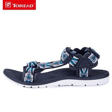 探路者 沙滩鞋男 18春夏新款户外男式轻便舒适时尚沙滩鞋TFGG81740