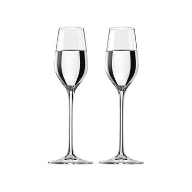 RONA 【洛娜】欢庆水晶玻璃利口杯甜酒杯95ml*2只