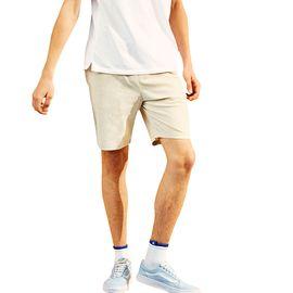 A21 夏季新款2018休闲短裤 男青年休闲运动绑带男裤透气舒适夏裤子4821044017
