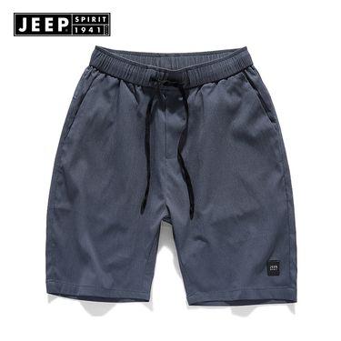 Jeep 男士夏季五分短裤速干宽松款舒适亲肤户外徒步运动男士短裤TR0269
