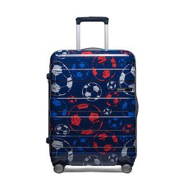 AMERICAN TOURISTER 美旅 DU9世界杯足球系列彩色印花可扩展时尚万向轮拉杆箱18寸/25寸/29寸