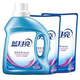 蓝月亮 【4斤超值组合】 深层洁净洗衣液薰衣草香 1kg*1瓶+500g*2袋(新老包装随机发)