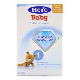 美素 荷兰本土天赋力 Hero baby 婴幼儿配方奶粉 1段(0-6个月)800g  候鸟  新老包装随机发