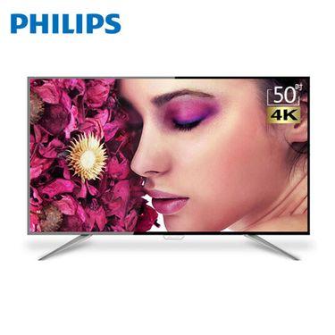 飞利浦 65PUF6112 65英寸4K超高清智能网络WIFI液晶平板电视 全国联保 顺丰到户 售后无忧