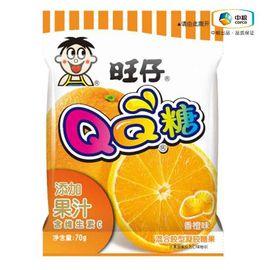 旺旺 旺仔QQ糖(香橙 袋装 70g)