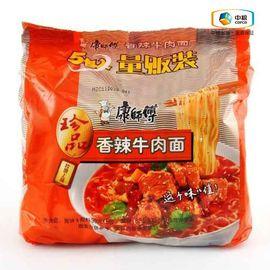 康师傅 香辣牛肉面(5连包 100g*5)