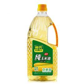 融氏 【绿色食品】纯玉米胚芽油  1.8L/瓶 【物理压榨、油品清香透亮】