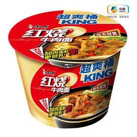 康师傅 大食桶红烧牛肉(桶装 143g)