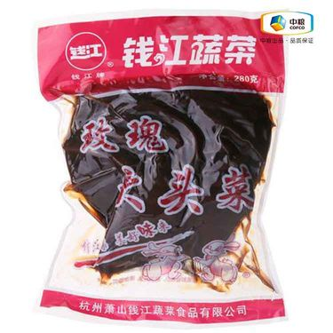 中粮 钱江玫瑰大头菜(袋装280g)