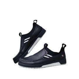 Ozwear UGG ozwear 男士白色边黑色一脚蹬运动牛皮鞋ob337IVY