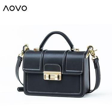 AOVO 包包女2018新款明星同款女包韩版百搭单肩斜挎包时尚手提小方包潮8005