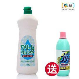 中粮 买神户家清 奶油膏状清洁剂 400g送神户家清 漂白剂(厨房用) 600ml