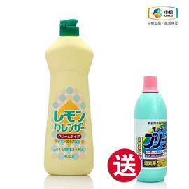 中粮 买神户家清 奶油膏状清洁剂(柠檬味) 400g送神户家清 漂白剂(厨房用) 600ml