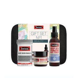Swisse 2018护肤美人三件套全新套装 蜂毒面膜+保湿喷雾+护肤口服胶囊片 IVY