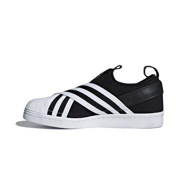 阿迪达斯 adidas三叶草女鞋2018夏季新款贝壳头运动透气板鞋休闲鞋AC8582