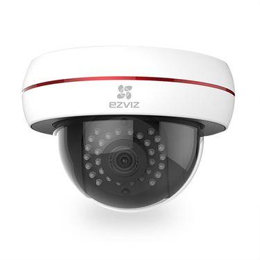 萤石 EZVIZ  海康威视C4S无线超市监控网络摄像头1080P半球夜视高清poe