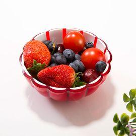 LIKUAI/利快 意大利进口guzzini花瓣设计欧式家用沙拉碗水果盘