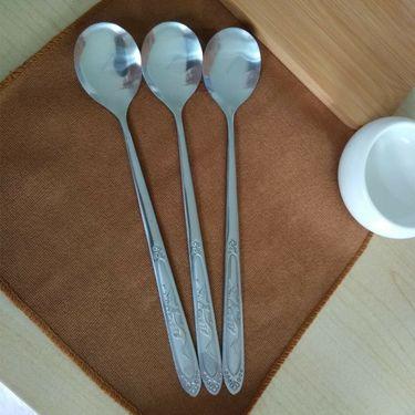 lanpiind 勺子不锈钢创意长柄调羹儿童可爱汤匙加厚汤勺餐具