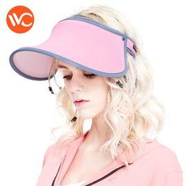 VVC 遮阳帽夏季女神帽百搭太阳帽遮脸防紫外线防晒帽