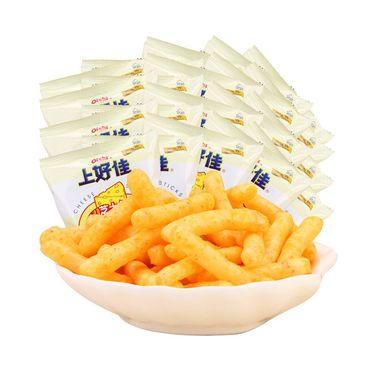 上好佳 鲜虾条20包膨化休闲办公室吃货零食小吃礼包