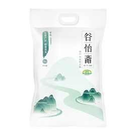 谷怡斋  2018当季新米 五常有机稻香贡米5kg/袋 有机稻花香大米 东北大米