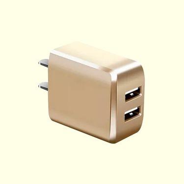 蛇蝎龙 手机充电器充电头 双USB充电插头手机平板充电 通过3C 认证