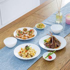 乐美雅 (Luminarc) 特瑞欧钢化玻璃餐具7件套 N5124