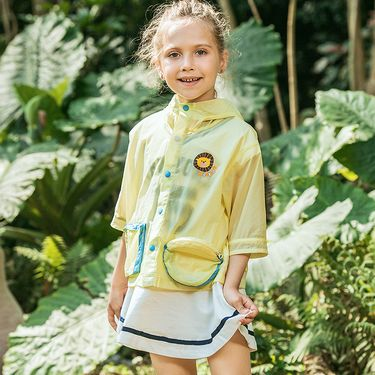 伯希和 PELLIOT户外儿童防晒衣 男女童防紫外线轻薄透气运动皮肤衣