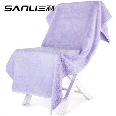 三利  加厚长绒棉大浴巾 70×140cm 纯棉A类 婴儿可用  单条装