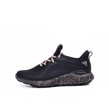 阿迪达斯 adidas 女鞋泼墨 黑色阿尔法 小椰子跑步鞋 DA9959