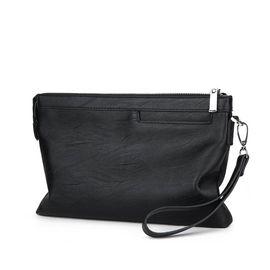 VOCCUE  男士手包男包大容量手拿包软 皮休闲手抓包夹包V018 小号